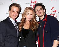 LOS ANGELES - JAN 17:  Christian LeBlanc, Tracey Bregman, Zach Tinker at the Young and the Restless Celebrates 30 Years at #1 at the CBS Television CIty on January 17, 2019 in Los Angeles, CA
