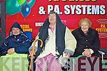 Prime seats: Theresa Lynch, Theresa Curran & Ann O'Keeffe enjoying the Valentia Regatta on a wet Friday evening.