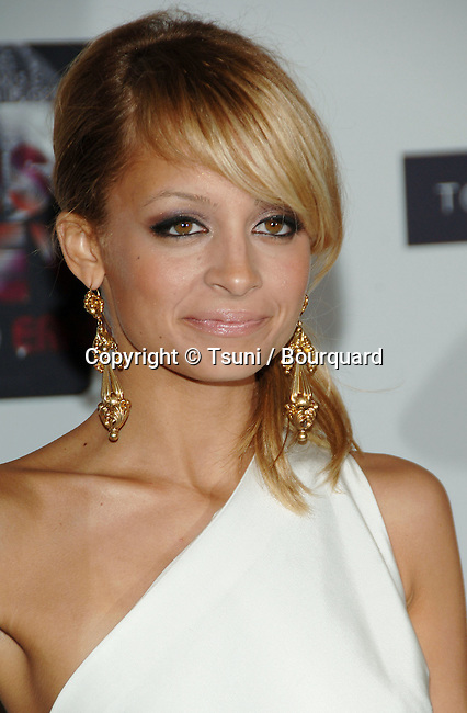 Nicole Richie arriving at the Race To Erase MS at the Century Plaza Hotel Los Angeles. May 12, 2006.