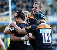 Wasps v Irish 20141109