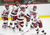 - The Harvard University Crimson defeated the Northeastern University Huskies 1-0 to win the 2010 Beanpot on Tuesday, February 9, 2010, at the Bright Hockey Center in Cambridge, Massachusetts.