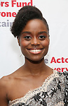 Denee Benton attends The Actors Fund Annual Gala at the Marriott Marquis on 5/8//2017 in New York City.