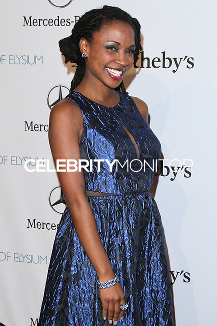 "HOLLYWOOD, LOS ANGELES, CA, USA - FEBRUARY 26: Shanola Hampton at The Art Of Elysium's 7th Annual ""Pieces Of Heaven"" Charity Art Auction held at Siren Studios on February 26, 2014 in Hollywood, Los Angeles, California, United States. (Photo by David Acosta/Celebrity Monitor)"