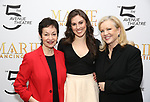 Lynn Ahrens, Tiler Peck andSusan Stroman attends the Sneak Peek Presentation for 'Marie, Dancing Still - A New Musical'  at Church of Saint Paul the Apostle in Manhattan on March 4, 2019 in New York City.