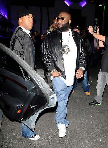 MIAMI BEACH, FL - JANUARY 28: Rick Ross attends his and Stevie J's birthday party at Club Play on January 28, 2011 in Miami Beach, Florida._NON-EXCL_ photo by: MPI10/MediaPunch Inc.
