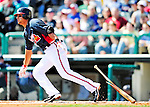 5 March 2010: Atlanta Braves' infielder Martin Prado in action during a Spring Training game against the Washington Nationals at Champion Stadium in the ESPN Wide World of Sports Complex in Orlando, Florida. The Braves defeated the Nationals 11-8 in Grapefruit League action. Mandatory Credit: Ed Wolfstein Photo