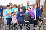 Pictured with Bishop Bill Murphy at the start of the Mary Kate Healy memorial walk in aid of the Childrens Medical and Research Foundation, Crumlin, on Wednesday 28th were Jack Healy, Shane Doona, Holly Richardson, Bridget Richardson, Michael Carey, Mary and Mike Healy, Kerry Richardson and Fiona O'Donoghue.