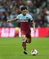 West Ham United's Felipe Anderson<br /> <br /> Photographer Rob Newell/CameraSport<br /> <br /> The Premier League - West Ham United v Crystal Palace - Saturday 5th October 2019 - London Stadium - London<br /> <br /> World Copyright © 2019 CameraSport. All rights reserved. 43 Linden Ave. Countesthorpe. Leicester. England. LE8 5PG - Tel: +44 (0) 116 277 4147 - admin@camerasport.com - www.camerasport.com