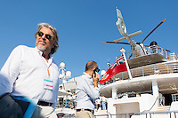 Superyacht Vanish at Monaco Yacht Show, Monaco, 29 September 2016