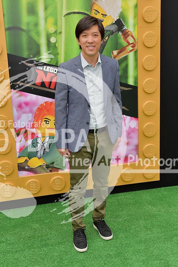 Dan Lin bei der Premiere des Kinifilme 'The LEGO Ninjago Movie' im Regency Village Theatre. Westwood, 16.09.2017