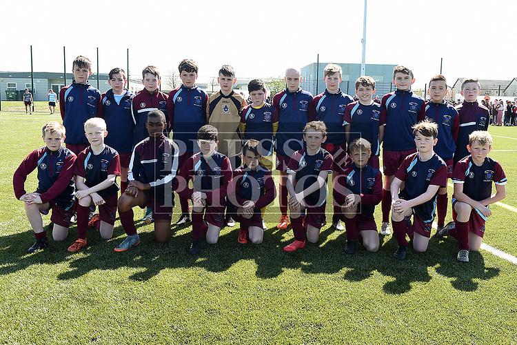 Drogheda Schoolboys U-12. Photo:Colin Bell/pressphotos.ie