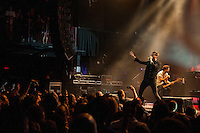 Keane plays The Boston House of Blues in their tour opening performance.