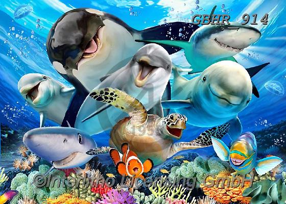 Howard, SELFIES, paintings+++++,GBHR914,#Selfies#, EVERYDAY ,underwater,maritime,dolphins ,sharks,maritime