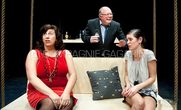 "Theatre company De Dijlezonen playing ""Abigail's Party"" from Mike Leigh, directed by Mauritz Kelchtermans (Belgium, 23/01/2014)"