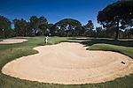 PORTUGAL - Quinta do Conde- Golfbaan Quinta do Peru Golf & Country Club. Hole14 .COPYRIGHT KOEN SUYK