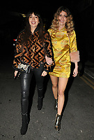 Zara Martin and Jade Williams at the Fendi Reloaded capsule collection launch party, Lost Rivers, Leake Street, London, England, UK, on Thursday 12 April 2018.<br /> CAP/CAN<br /> &copy;CAN/Capital Pictures