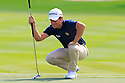 Steve Webster (ENG) in action during the final round of the Abu Dhabi HSBC Golf Championship played at Abu Dhabi Golf Club, UAE 15-18 January 2015.(Picture Credit / Phil Inglis)