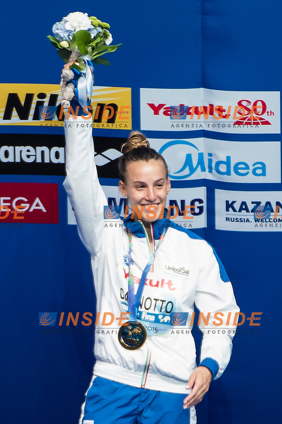 CAGNOTTO Tania ITA gold medal<br /> Diving - Women's 1m springboard final <br /> Day 05 28/07/2015<br /> XVI FINA World Championships Aquatics Swimming<br /> Kazan Tatarstan RUS July 24 - Aug. 9 2015 <br /> Photo Giorgio Perottino/Deepbluemedia/Insidefoto