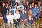 Golden Celebrations - Monty & Mary Falvey from Abbeydorney, seated centre having a wonderfukl time with family at thei 50th wedding anniversary celebrations held in O'Donnell's of Mounthawk on Sunday. Seated l/r Fiona Molyneaux, Monty & Mary Falvey and Trish Falvey, standing l/r Margaret Molyneaux, Jack Bolger, Ann & Maisy Falvey, Mick Emmet & Tina Bolger, Bill & Mossie Falvey, Clodagh Bolger, Aine, Aidan, Lucy &Kate Falvey Thomas & Tommy Molyneaux.