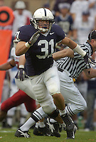 16 September 2006:  Penn State LB Paul Posluszny (31).&amp;#xD;The Penn State Nittany Lions defeated the Youngstown State Penguins 37-3 September 16, 2006 at Beaver Stadium in State College, PA.&amp;#xD;<br />