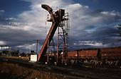 D&amp;RGW Red Devil Coal Loader at Alamosa.<br /> D&amp;RGW  Alamosa, CO