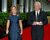 Caroline Kennedy and Edwin A. Schlossberg arrive for the formal Artist's Dinner honoring the recipients of the 2012 Kennedy Center Honors hosted by United States Secretary of State Hillary Rodham Clinton at the U.S. Department of State in Washington, D.C. on Saturday, December 1, 2012. The 2012 honorees are Buddy Guy, actor Dustin Hoffman, late-night host David Letterman, dancer Natalia Makarova, and the British rock band Led Zeppelin (Robert Plant, Jimmy Page, and John Paul Jones)..Credit: Ron Sachs / CNP