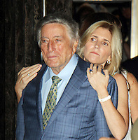 NEW YORK, NY-August 03: Susan Crow,Tony Bennett Light the Empire State Building in honor of 90 years of  Tony Bennett's Musical Legacy at the Empire State Building  in New York. NY August 03, 2016. Credit:RW/MediaPunch