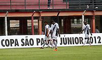 GUARULHOS, SP, 08 JANEIRO 2011 - COPA SAO PAULO DE FUTEBOL JUNIOR 2012 - <br /> Jogadores da Ponte Preta duarnte partida entre as equipes do Figueirense -SC x Ponte Preta realizada no Est&aacute;dio Municipal Ant&ocirc;nio Soares de Oliveira Guarulhos (SP), v&aacute;lida pela 2&ordf; Rodada do Grupo X da Copa S&atilde;o Paulo de Futebol Junior 2012, neste domingo (08). (FOTO: ALE VIANNA - NEWS FREE).
