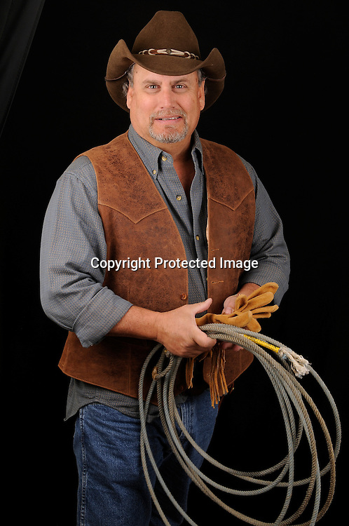 Royalty Free Photo of Western Cowboy Stock photo of Western Cowboy