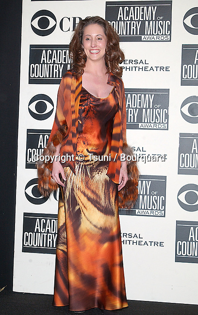 Laura Bryna, backstage at The 37th Academy of Country Music Awards, held at the Universal Amphitheatre in Los Angeles, CA., May 22, 2002.