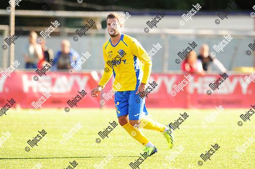 2014-06-30 / Voetbal / seizoen 2014-2015 / SC City Pirates Merksem Antwerpen / Miles Vissers<br /><br />Foto: mpics.be