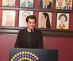 Andrew Garfield during the 2018 Outer Critics Circle Theatre Awards presentation at Sardi's on May 24, 2018 in New York City.