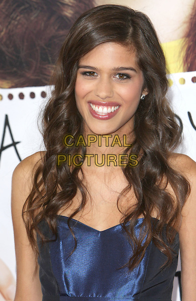 "MAHALEY HESSAM.""Easy A"" Los Angeles Premiere held at Grauman's Chinese Theatre, Hollywood, CA, USA..September 13th, 2010.headshot portrait blue smiling .CAP/ADM/CH.©Charles Harris/AdMedia/Capital Pictures"