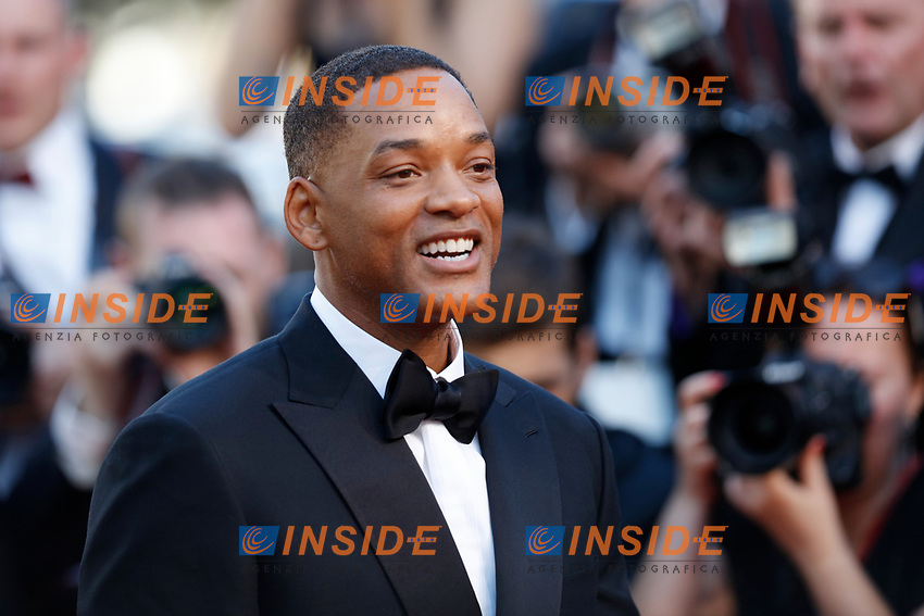 Will Smith<br /> Cannes 17-05-2017 70&deg;Edizione Festival del Cinema di Cannes. Cerimonia d'apertura<br /> Foto Panoramic / Insidefoto