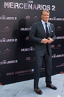 08.08.2012. Presentation at the Hotel Ritz in Madrid of the film ´The Expendables 2´. Directed by Simon West and starring by  Bruce Willis, Jean-Claude Van Damme  , Sylvester Stallone, Jason Statham, Jet Li, Dolph Lundgren, Randy Couture, Terry Crews and Liam Hemsworth.  In the image Dolph Lundgren (Alterphotos/Marta Gonzalez) / NortePhoto.com<br />