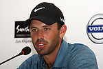 DURBAN - 8 January 2013 - Top ranked South African golfer Charl Schwartzel speask about his chances at the Volvo Golf Champions in Durban at a press conference. The tournament starts on January 9 and finishes on January 12. Picture: Allied Picture Press/APP