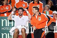 6-4-07, England, Birmingham, Tennis, Daviscup England-Netherlands,  Sluiter and Siemerink