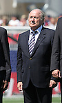 22 July 2007: FIFA President Joseph (Sepp) Blatter. At the National Soccer Stadium, also known as BMO Field, in Toronto, Ontario, Canada. Argentina's Under-20 Men's National Team defeated the Czech Republic's Under-20 Men's National Team 2-1 in the championship match of the FIFA U-20 World Cup Canada 2007 tournament.