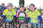 Mike O'Donoghue Glenflesk, Denis Cronin Killarney and Kevin Griffin Glenbeigh at the Paud O Leary and Willie Reen Tour of Sliabh Luachra on Saturday