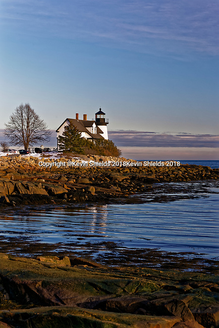 Prospect Harbor Point Light, Gouldsboro, Maine, USA