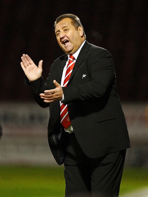 Jimmy Calderwood, Aberdeen.stock season 2005-2006.pic willie vass