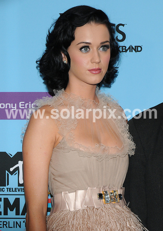 **ALL ROUND PICTURES FROM SOLARPIX.COM**.**WORLDWIDE SYNDICATION RIGHTS**.Katy Perry, Pete Wentz and Joss Stone at the Press Conference for tomorrow's MTV European Music Awards 2009. Held at O2 World, Berlin, Germany.  4 November 2009..This pic: Katy Perry..JOB REF: 10226 SSD     DATE: 04_11_2009.**MUST CREDIT SOLARPIX.COM OR DOUBLE FEE WILL BE CHARGED**.**MUST NOTIFY SOLARPIX OF ONLINE USAGE**.**CALL US ON: +34 952 811 768 or LOW RATE FROM UK 0844 617 7637**