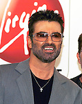 George Michael 2004 at Virgin Megastore in Hollywood.© Chris Walter.