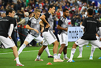 Sebastian Rudy (Deutschland, Germany), Matthias Ginter (Deutschland Germany), Mats Hummels (Deutschland Germany), Serge Gnabry (Deutschland Germany), Thilo Kehrer (Deutschland Germany) - 16.10.2018: Frankreich vs. Deutschland, 4. Spieltag UEFA Nations League, Stade de France, DISCLAIMER: DFB regulations prohibit any use of photographs as image sequences and/or quasi-video.
