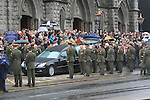 The Funeral of the Late Robert Tiernan leaving St Marys Church to Calvery Cemetry..Picture Fran Caffrey/www.newsfile.ie.