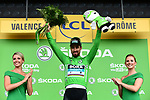 World Champion Peter Sagan (SVK) Bora-Hansgrohe wins Stage 13 and retains the Green Jersey his 3rd stage win of the 2018 Tour de France running 169.5km from Bourg d'Oisans to Valence, France. 20th July 2018. <br /> Picture: ASO/Alex Broadway | Cyclefile<br /> All photos usage must carry mandatory copyright credit (&copy; Cyclefile | ASO/Alex Broadway)