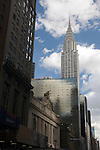 Chrysler Building and Grand Central Terminal from 42th street, NYC, USA