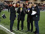 TV pundits Owen Coyle, Alex Rae and Stephen Craigan