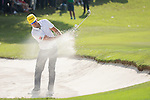 Sam Brazel of Australia gets his ball out of a bunker during the 58th UBS Hong Kong Golf Open as part of the European Tour on 11 December 2016, at the Hong Kong Golf Club, Fanling, Hong Kong, China. Photo by Vivek Prakash / Power Sport Images