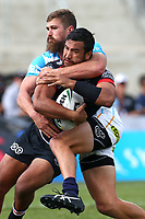 Peta Hiku. Vodafone Warriors v Gold Coast Titans, NRL Rugby League round 2, Mt Smart Stadium, Auckland. 17 March 2018. Copyright Image: Renee McKay / www.photosport.nz